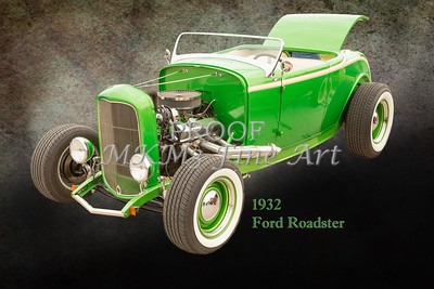 1932 Ford Roadster Color Photographs and Fine Art Prints 004.02