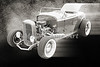 1932 Ford Roadster Sepia Posters and Prints 019.01