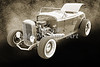 1932 Ford Roadster Sepia Posters and Prints 015.01