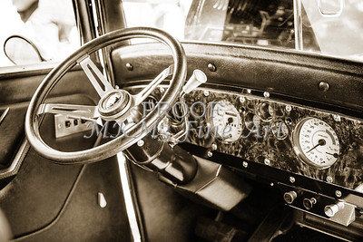 1932 Plymouth Interior in sepia 3050.01