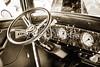 1932 Plymouth Interior in sepia 3050.01
