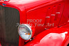 1933 Chevrolet Chevy Sedan fender of Classic Car in Color 3164.02