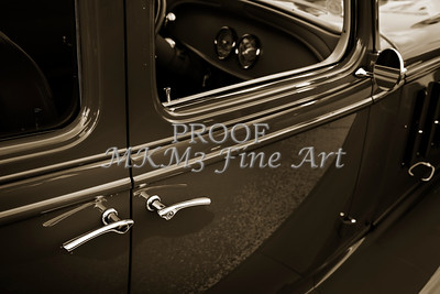 1933 Chevrolet Chevy Sedan Classic Car door handle in Sepia 3170.01