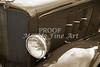 1933 Chevrolet Chevy Sedan fender of Classic Car in Sepia 3164.01