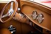1933 Chevrolet Chevy Sedan Classic Car Intenior in Color 3171.02