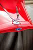 1933 Chevrolet Chevy Sedan Classic Car Emblem in Color 3166.02