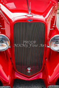 1933 Chevrolet Chevy Sedan Classic Car Grill in Color 3167.02