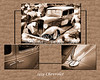 1933 Chevrolet Chevy Sedan Classic Car Collage in Color 3516.02