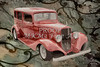 1933 Chevrolet Chevy Sedan Classic Car Painting in Color  3160.02