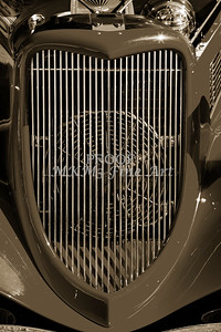 1933 Ford Vilky Automobile Grill in Sepia 3025.01