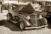 1933 Ford Vilky Automobile in Sepia Color 3023.01
