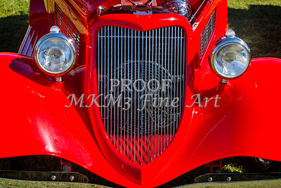 1933 Ford Vilky Automobile  Front End and Grill Color 3024.02