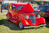 1933 Ford Vilky Automobile in Red Color 3023.02
