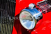 1933 Ford Vilky Automobile Headlight in Red Color 3027.02