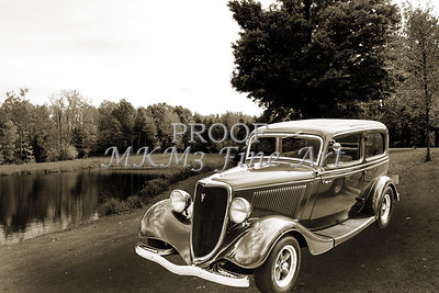 1934 Ford Sedan Antique Vintage Photograph Fine Art Print Collectables 209