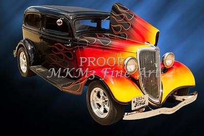 1934 Ford Street Rod Classic Car 5545.14