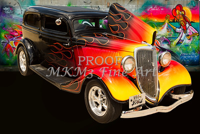1934 Ford Street Rod Classic Car 5545.03