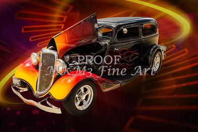 1934 Ford Street Rod Classic Car 5545.08