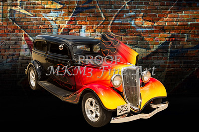 1934 Ford Street Rod Classic Car 5545.12