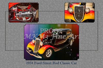 1934 Ford Street Rod Classic Car 5545.02