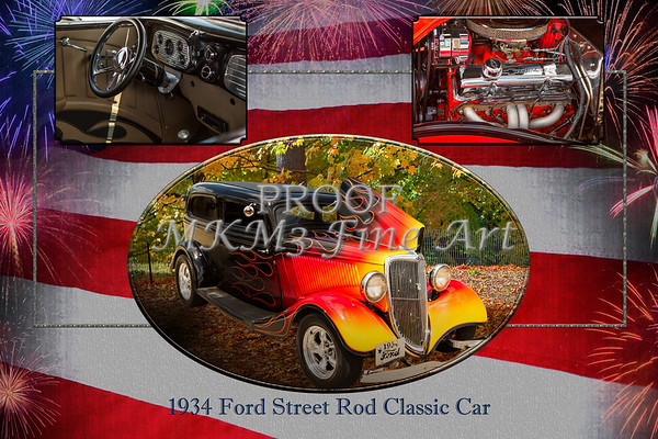 1934 Ford Street Rod Classic Car 5545.01