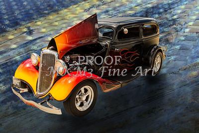 1934 Ford Street Rod Classic Car 5545.09