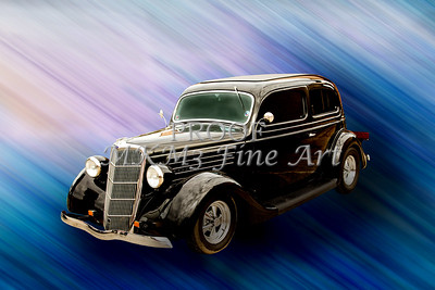 1935 Ford Sedan Vintage Antique Classic Car Art Prints 5034.02