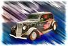 1935 Ford Sedan Vintage Antique Classic Car Art Prints 5037.02