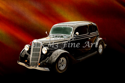 1935 Ford Sedan Vintage Antique Classic Car Art Prints 5035.02