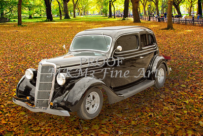 1935 Ford Sedan Vintage Antique Classic Car Art Prints 5033.02