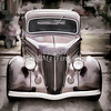 1936 Ford Classic Car or Automobile Painting in Color  3120.02