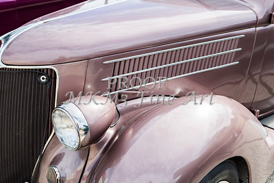 1936 Ford Classic Car or Automobile Front Fender in Color  3118.02