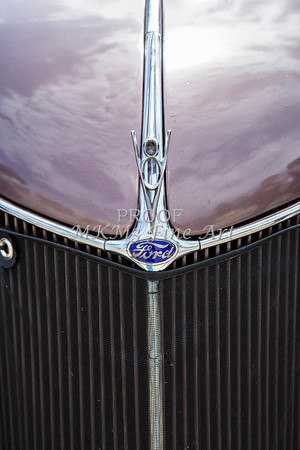 1936 Ford Classic Car or Automobile Front Grill in Color  3117.02