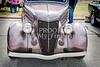 1936 Ford Classic Car or Automobile Front End in Color  3116.02
