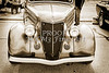 1936 Ford Classic Car or Automobile Front End in Sepia  3116.01