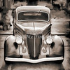 1936 Ford Classic Car or Automobile Painting in Sepia  3120.01
