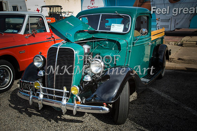 1937 Ford Pickup Truck Classic Car Photograph in Color  3308.02