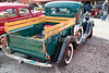 1937 Ford Pickup Truck Spare Tire Classic Car Photograph in Color 3313.02