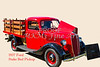 1937 Ford Stake Bed Pickup Antique Vintage Photograph Fine Art Prints Collectables 104
