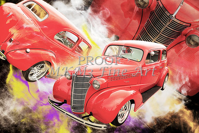 1938 Chevrolet Classic Car Photograph 6749.02