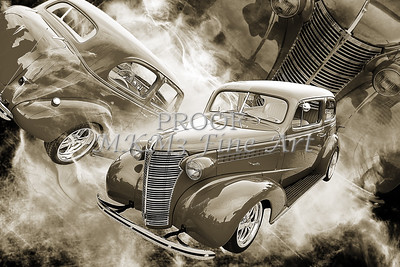 1938 Chevrolet Classic Car Photograph 6748.01