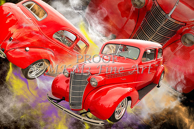1938 Chevrolet Classic Car Photograph 6748.02