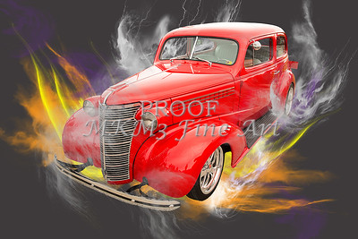 1938 Chevrolet Classic Car Photograph 6746.02