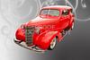 1938 Chevrolet Classic Car Photograph 6745.02