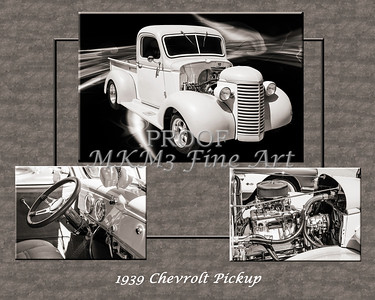 1939 Chevrolet Pickup Vintage Car Fine Art Prints Photograph Antique 3555.01