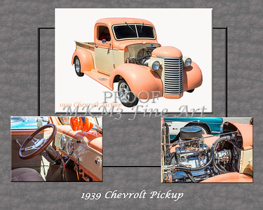 1939 Chevrolet Pickup Vintage Car Fine Art Prints Photograph Antique 3545.02