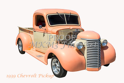 1939 Chevrolet Pickup Vintage Car Fine Art Prints Photograph Antique 3553.02