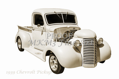 1939 Chevrolet Pickup Vintage Car Fine Art Prints Photograph Antique 3553.01