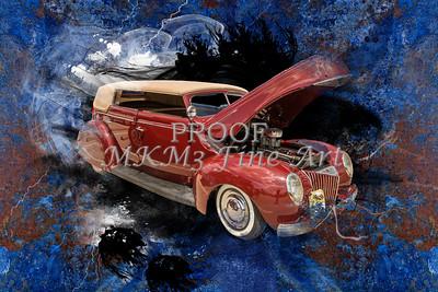 1939 Ford 4 Door Deluxe Convertible 5542.07