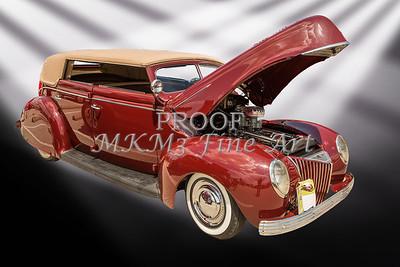 1939 Ford 4 Door Deluxe Convertible 5542.05